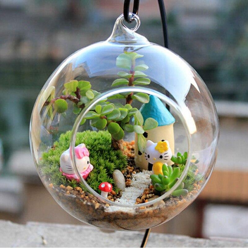 10 pçs/lote estilingue bola decoração do casamento de Acrílico Cristal Transparente Casamento ornamento de Suspensão Do Teto Casa DIY Decoração do partido