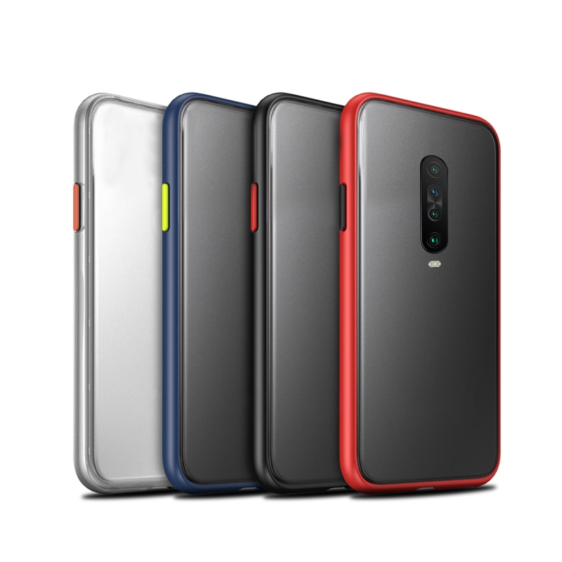 Funda de silicona suave de lujo para Xiaomi Redmi K30, funda de poliuretano termoplástico rojo Mi K20 Pro K 30 20 K20pro