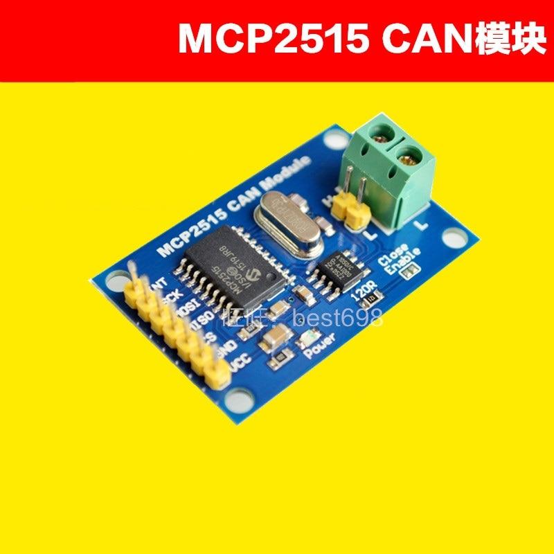 Mcp2515 can bus módulo tja1050 receptor spi protocolo
