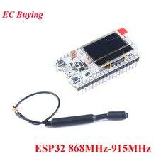 2 pièces 868 MHz/915 MHz LoRa ESP32 Oled Wifi SX1276 Module IOT avec antenne pour Arduino kit de bricolage électronique PCB nouvelle Version 2018
