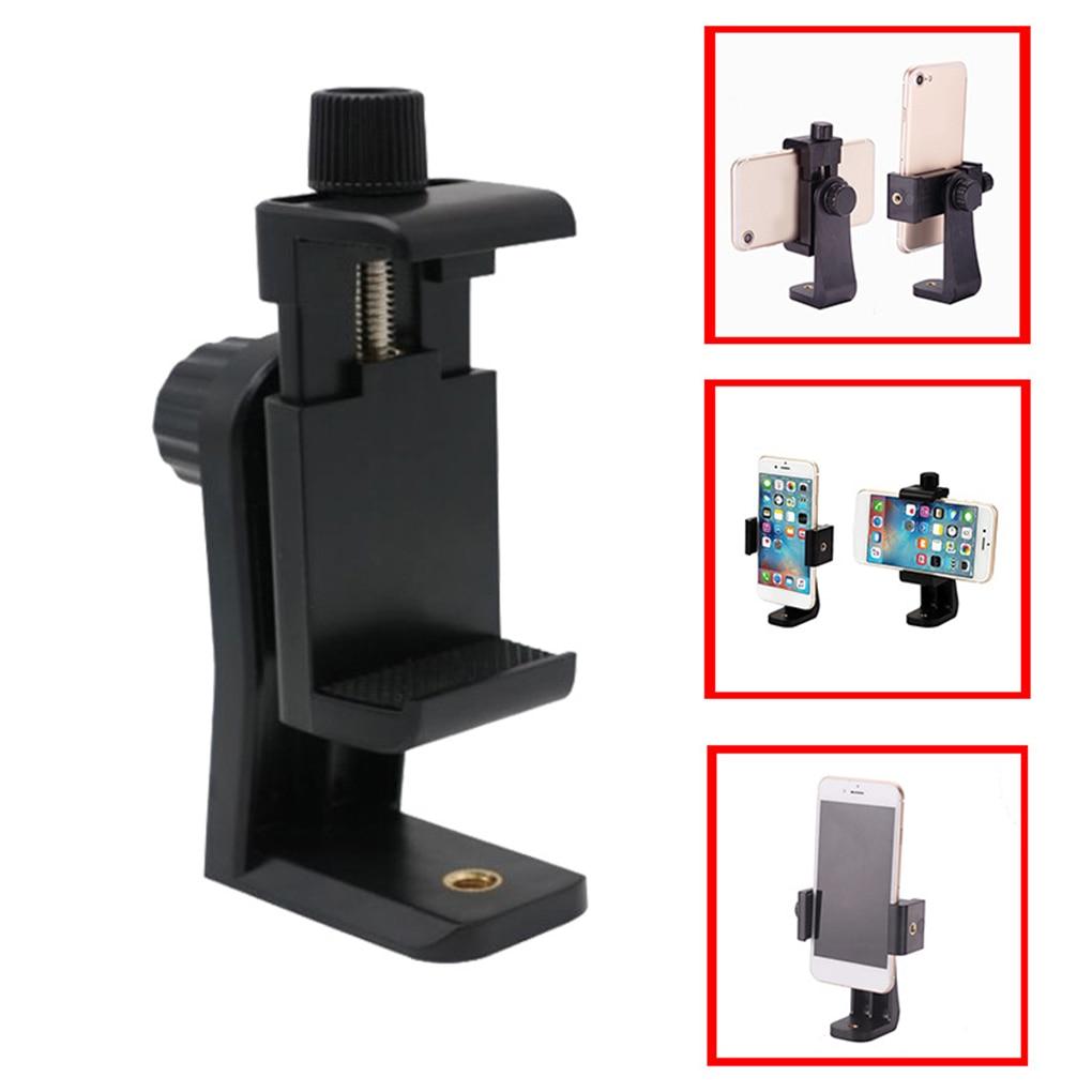 Universele Telefoon Statief Mount Adapter Mobiele Telefoon Clipper Houder Verticale 360 Statief Stand for iPhone voor camera