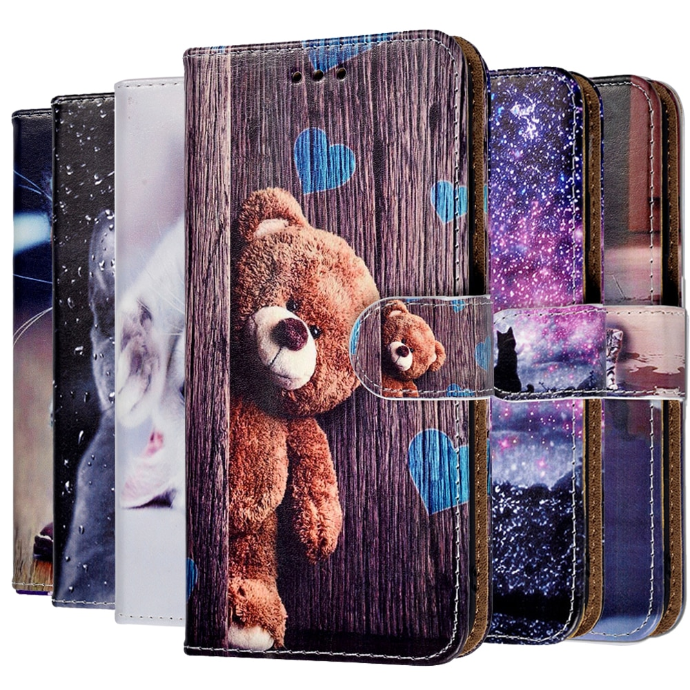Boys Girls Kids Lovely Phone Bags Case For Huawei Mate 8 9 10 20 Lite P30 Pro Honor 10 6C 7X 8A 8C C