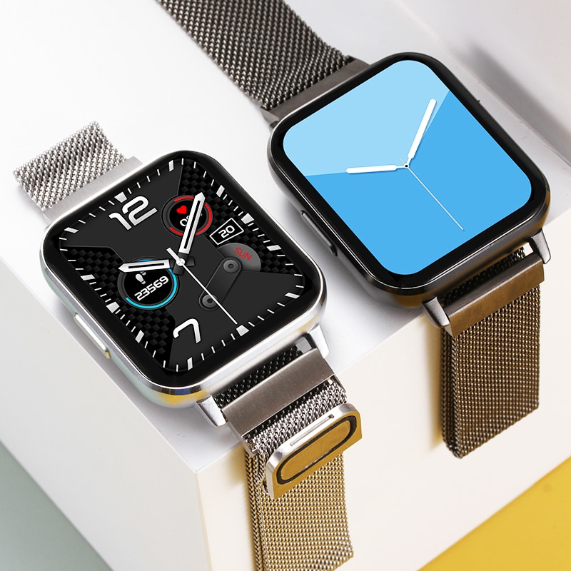 Timewolf ساعة رقمية أندرويد الرجال 2020 بلوتوث دعوة Smartwatch الرجال IP68 مقاوم للماء Reloj Inteligent ساعة ذكية للرجال والنساء