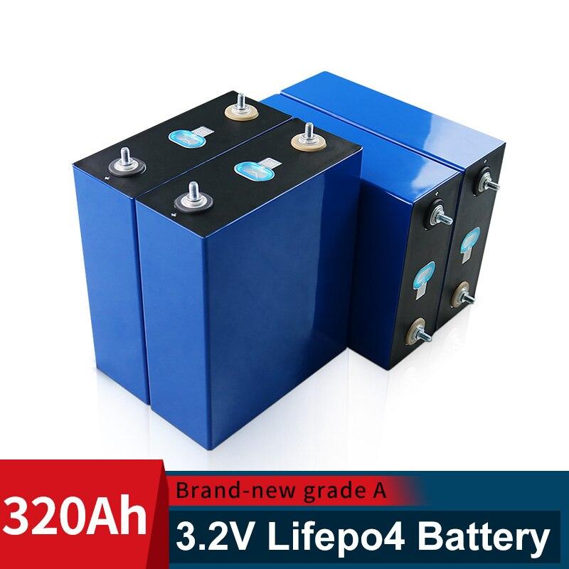 CATL 3.2 فولت 310AH العلامة التجارية الجديدة Lifepo4 Battery16PCS 320AH 48 فولت خلية الصف أ لتقوم بها بنفسك بطارية قابلة للشحن حزمة الاتحاد الأوروبي الولايات ال...