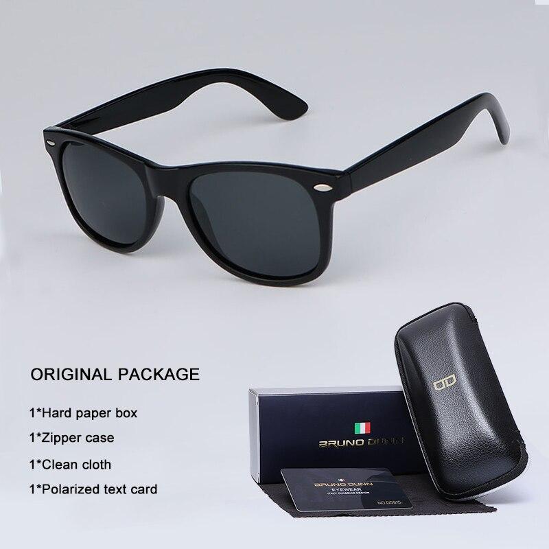 Bruno Dunn 2020 Unisex Sunglasses Men Women Polarized for Sun glasses Oculos De Sol masculino femini