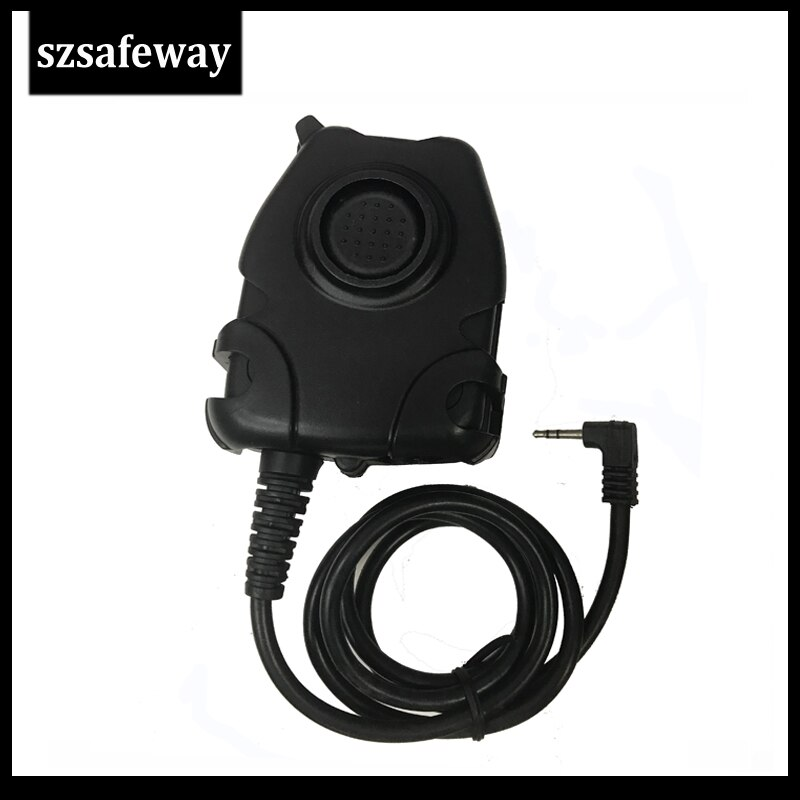 Cable PTT a prueba de agua para auriculares tácticos Z comtacil H50 MSA SORDIN H60 HD03 auriculares para Motorola T6200 TKLR T3, TKLR T4,
