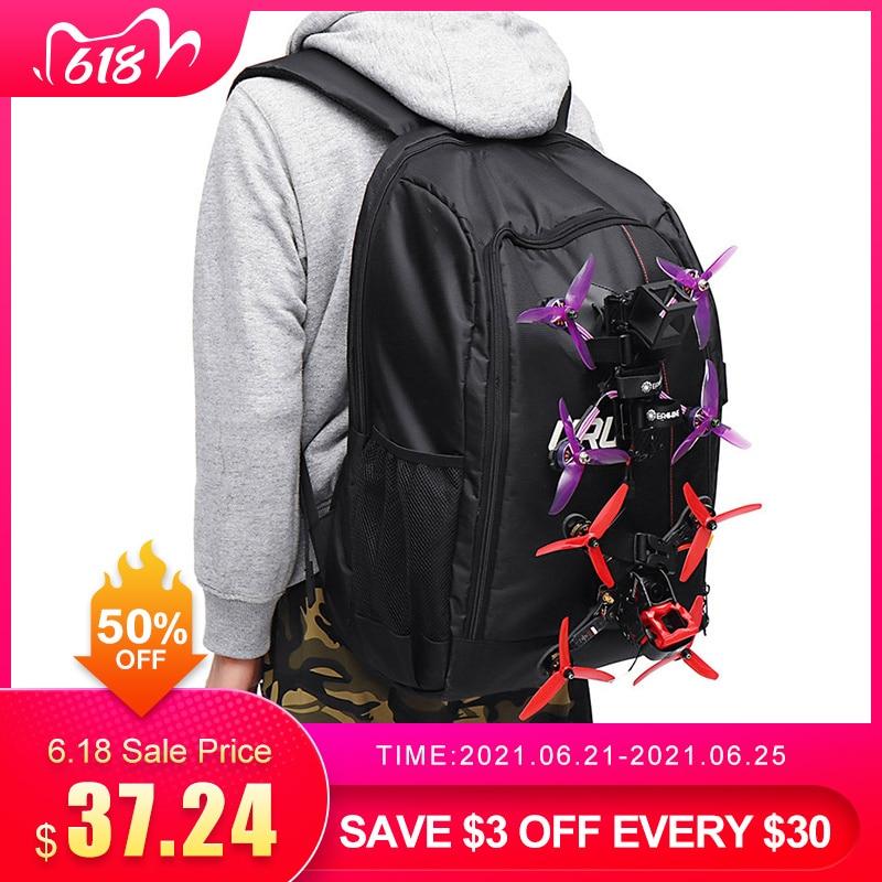 URUAV UR7 FPV Racing Backpack Shoulder Bag Crossbody Waterproof Carrying Suit Case Transmitter Bags Travel Messenger Sling Bag