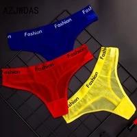 azjwdas womens underwear sports style sexy transparent soft hollow underwear string thong sexy underwear ladies thong
