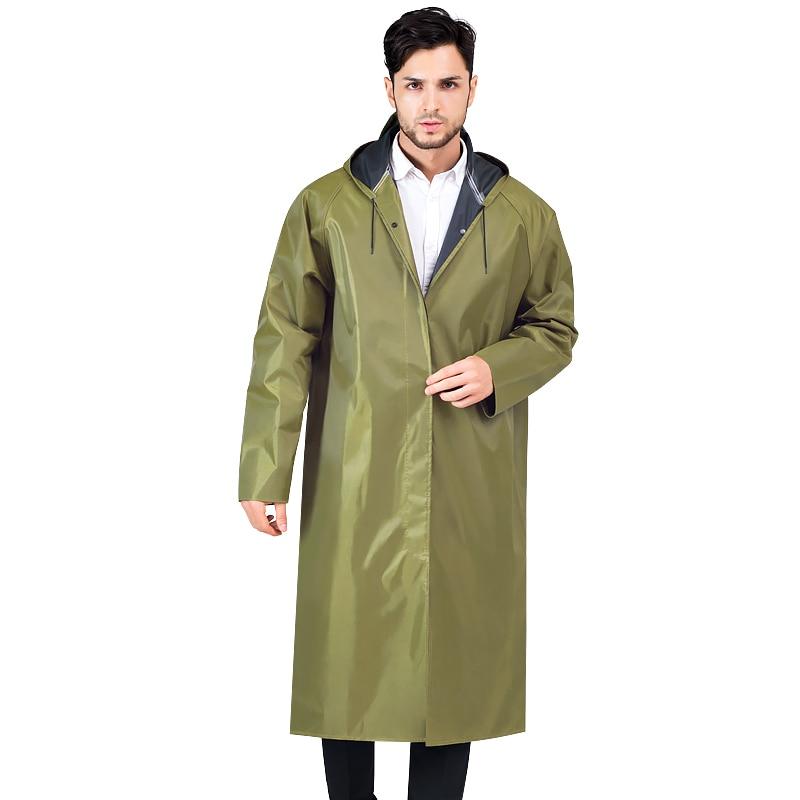 Long Raincoat Hooded Waterproof Outdoor Adults Raincoat Lightweight Camping Supplies Portable Chubasqueros Rain Gear BG50RG