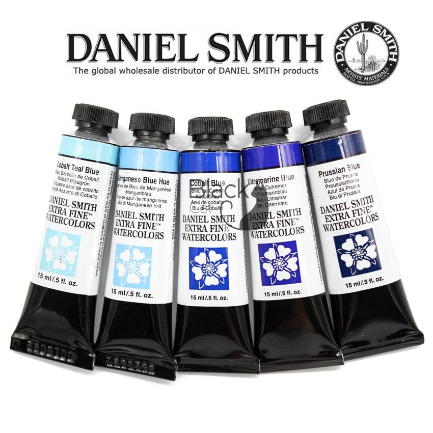 Pintura de acuarela Daniel Smith Master, Color en capas de precipitación, de...