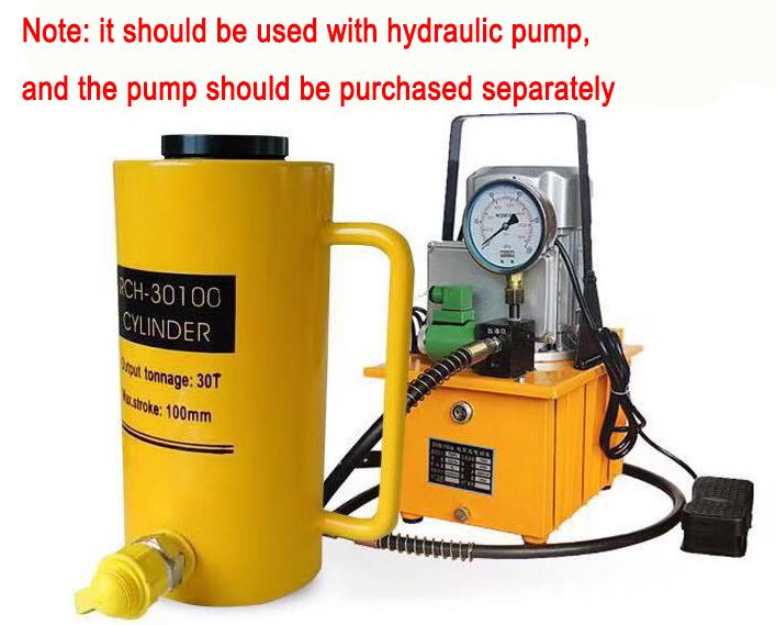 Hydraulic cylinder hollow plunger jack/Separate jack/Hollow jack 20T30T60T enlarge