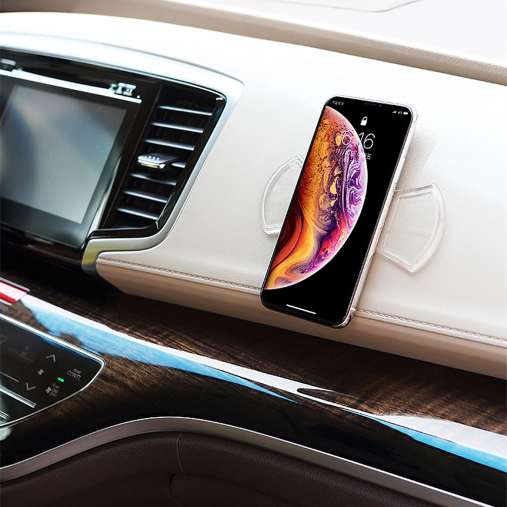 Nano soporte de teléfono Anti-Slip pad para Honda CRV acuerdo Odeysey Crosstour Jazz ciudad cívica JADE Crider Spirior S660 UR-V XR-V HR-V