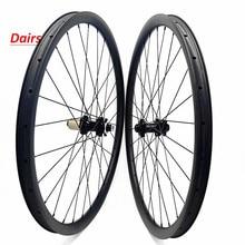 27.5er mtb ruedas de carbono 650B mtb 30x28mm sin tubo recto tire FASTace DA206 100x15 142x12 carbono mtb rueda juego de ruedas de bicicleta