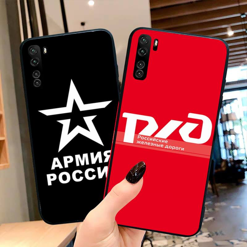 Coque de téléphone avec lettres russes pour OPPO Realme 6 Pro XT Realme C3 5 Pro C2 RENO2-Z A11X