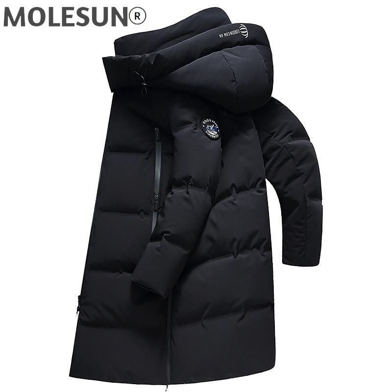Пуховик AKOOSUN мужской зимний, куртка с капюшоном, плотная пуховая одежда, LXR635, 2021