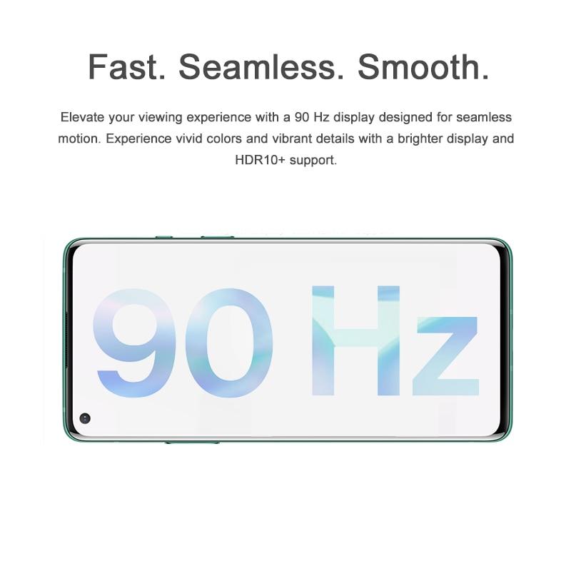 Фото2 - Смартфон Oneplus 8, телефон с глобальной прошивкой, Официальный магазин OnePlus, Восьмиядерный процессор Snapdragon 865, 8 Гб 128 ГБ, экран 6,55 дюйма 90 Гц, заря...
