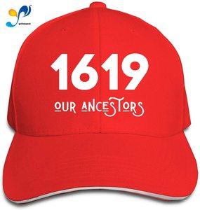 1619 Our Ancestors African American Unisex Sandwich Baseball Cap