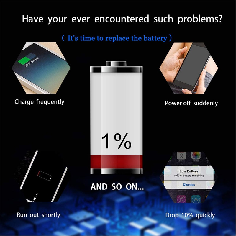 Hot Original Lithium Battery For iPhone 6S 6 5S 5C X SE 7 8 Plus XR Xs Max High Real Capacity Zero Cycle Free Tools Sticker Case enlarge