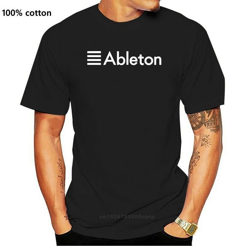 ABLETON-T-SHIRT-STUDIO-CLUBWEAR-PRODUTTORE-EDM-CASA-13 colorida, nueva camiseta, divertida, Magliette, trasera
