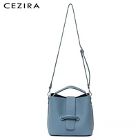 cezira large shoulder bags women pu leather hobo casual daily crossbody bucket purse female solid color handbag with liner purse