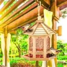 Conteneur distributeur de graines daliments, maison suspendue, mangeoire pour oiseaux, outil dextérieur