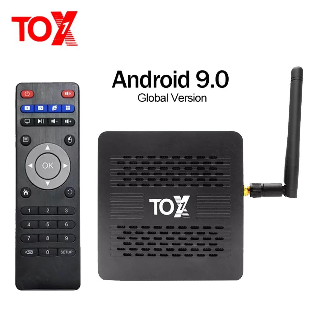 السموم 1 مربع التلفزيون الذكية أندرويد 9.0 صندوق التلفزيون Amlogic S905X3 4GB 32GB تعيين صندوق علوي 2.4G 5G واي فاي ترانسبيد 4K بلوتوث 1000M مشغل الوسائط