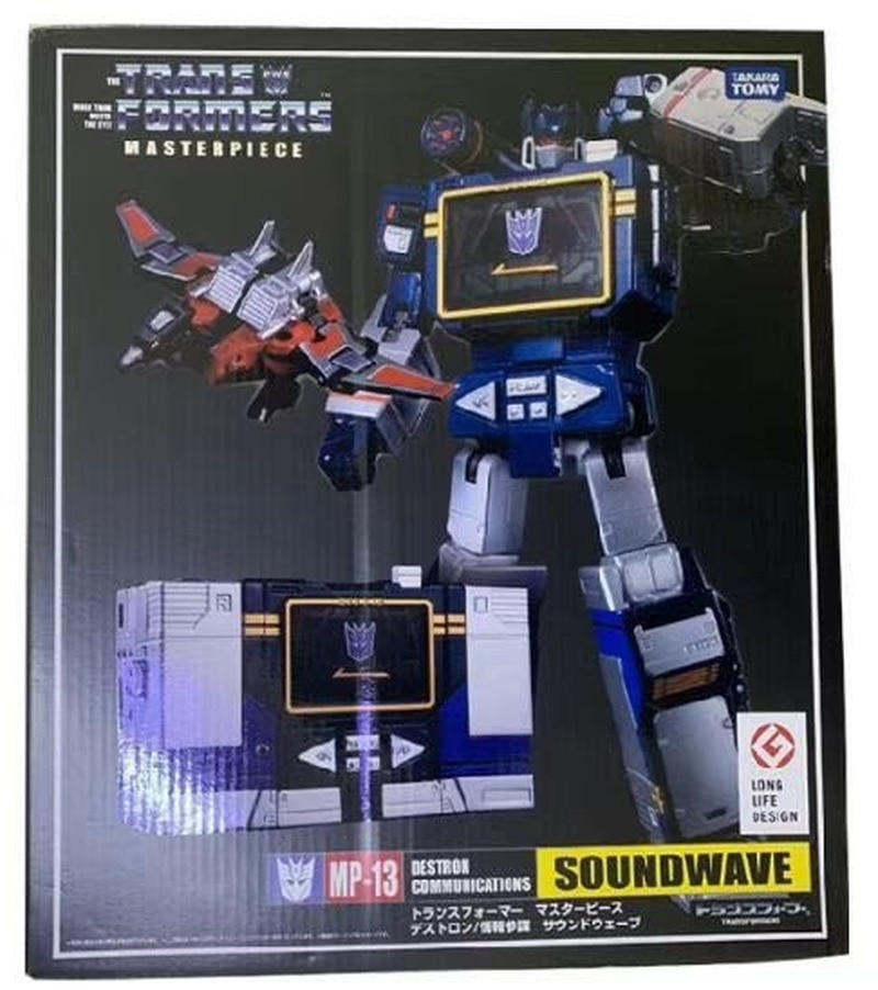 Transformers MP13 MP-13 Takara Tomy con cinta magnética Robot Deformación de coches juguete Robot para niños