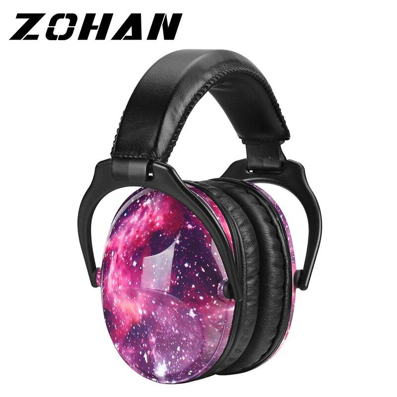 Protección de oído para niños ZOHAN, protectores auditivos de seguridad, reducción de ruido, protectores auditivos para niños pequeños