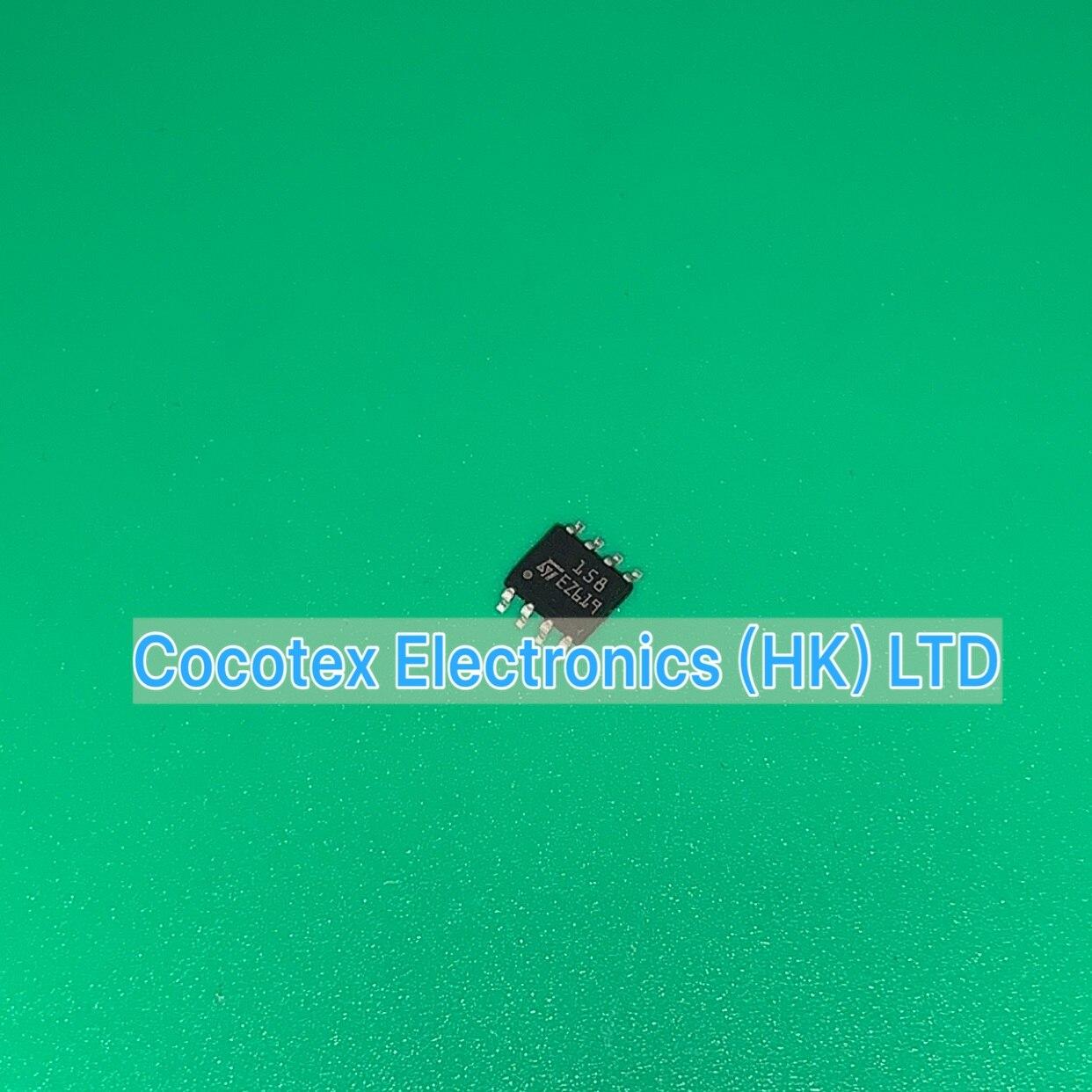 10pcs/lot LM158DT SOP8 LM 158 DT IC OPAMP GP 1.1MHZ 8SOIC LM158-DT LM158DR L158DT