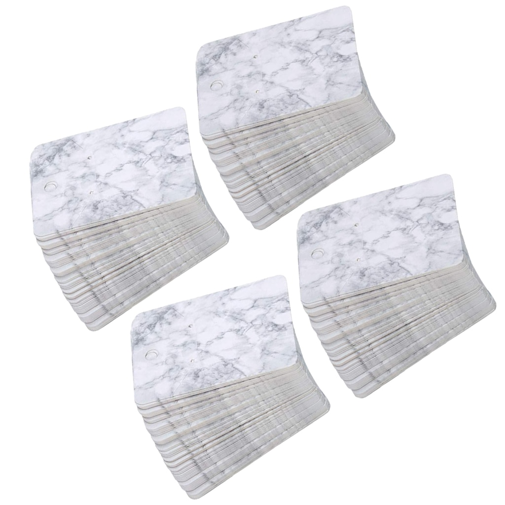 200-шт-упак-5-7-см-Мрамор-печать-креативные-серьги-упаковка-карт