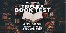 Triple A Book Test by Marc Paul , magic tricks (no props)