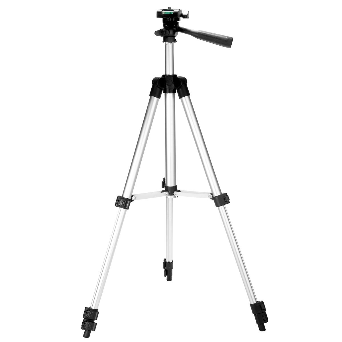 Pohiks 35cm-102cm Portable Extendable Tripod Aluminium Alloy Stand Adjustable For Mini Projector DLP Camera