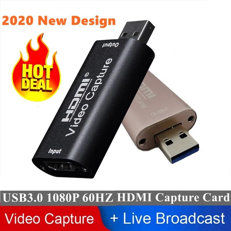 4K Mini tarjeta de captura de vídeo HD HDMI 1080P TARJETA DE...