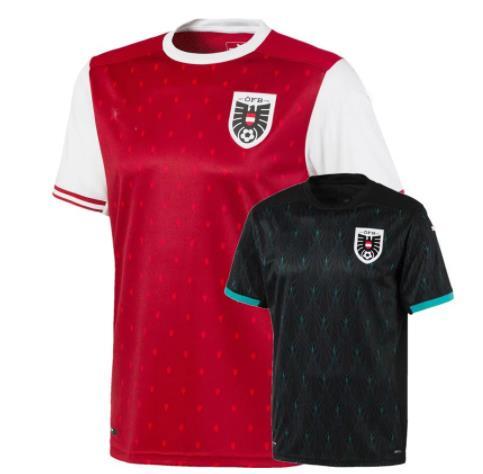 Camiseta de Austria para casa, camisetas de fútbol, 21, 22, Alaba, Arnautovic,...