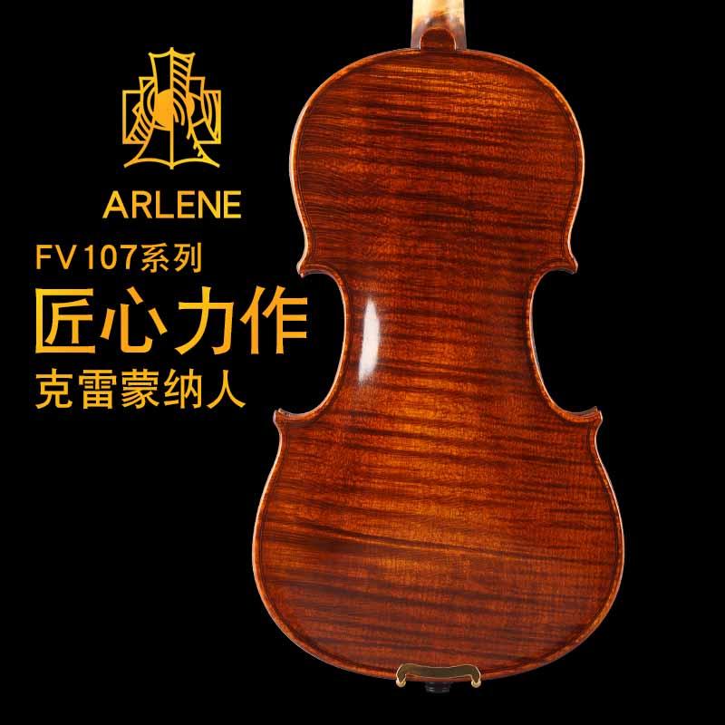الكمان المصنوعة يدويا اللعب من قبل الماجستير المهنية عالية الجودة للبالغين والأطفال والمللمبتدئين.