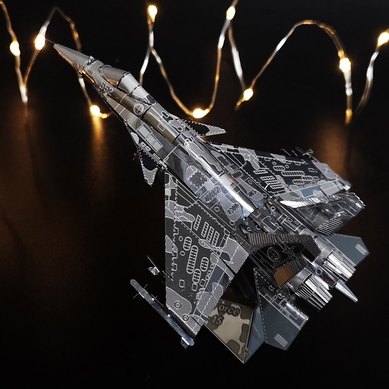 Fer étoile AIR FORCE J-15 3D puzzle modèle dassemblage en métal jouets créatifs cadeaux pour enfants