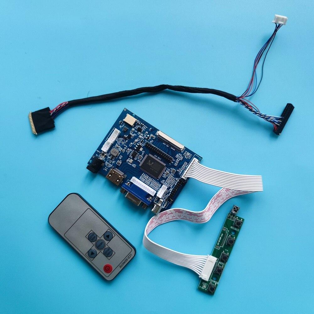 عدة عمل ل LTN156AT03 1366x768 تحكم مجلس لوحة سائق 2AV VGA AV LED HDMI LCD 40pin شاشة عن بعد شاشة عرض