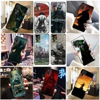 hand painted japanese samurai phone case for xiaomi redmi 9i 9at 9a 9c 9 redmi 9at 9t cases back cover soft tpu carcasa
