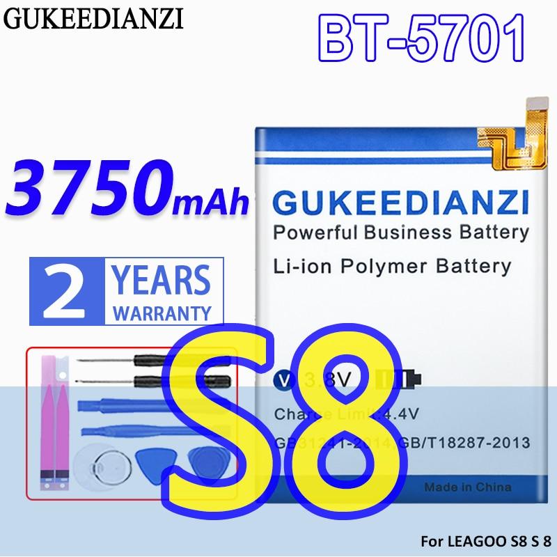 GUKEEDIANZI-Batería de alta capacidad, BT-5701, 3750mAh, para LEAGOO S8 S 8