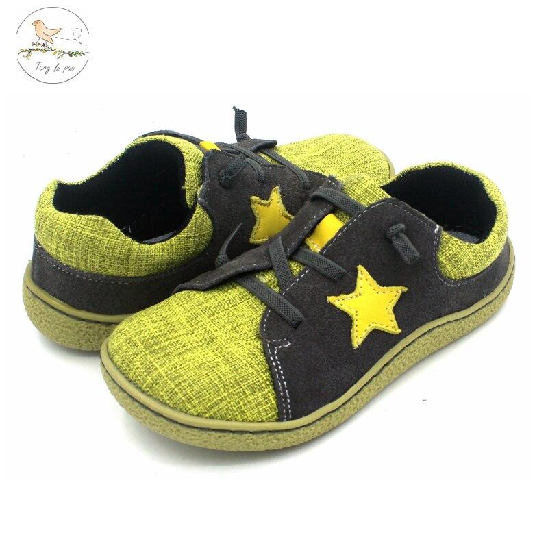 Tong-أحذية ركض جلدية للأطفال من سن 1 إلى 6 سنوات ، أحذية غير رسمية ، حافي القدمين ، توصيل سريع