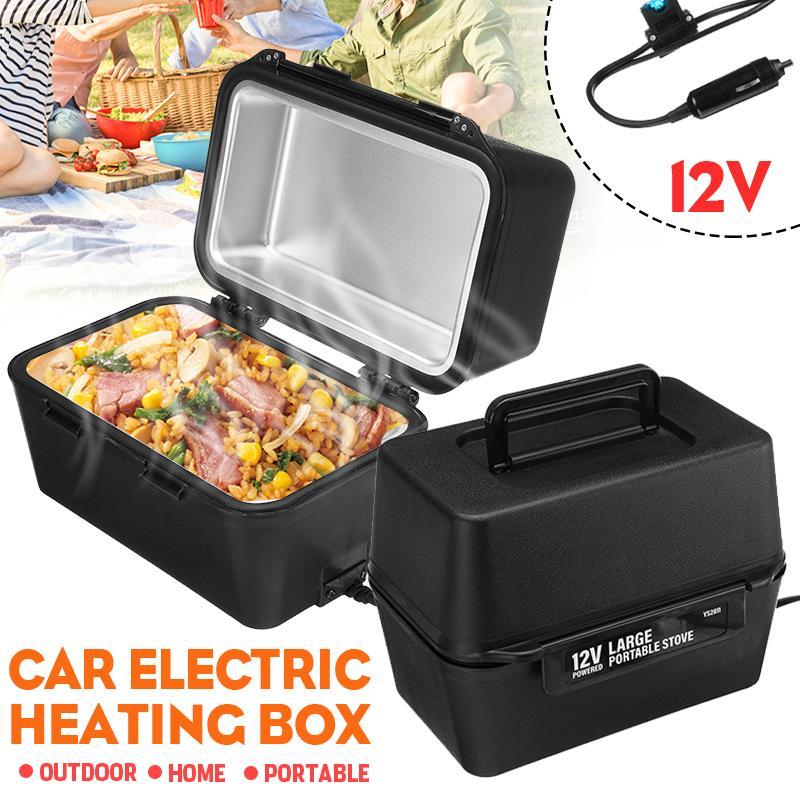 12v grande capacidade lancheira eletrica portatil aquecedor de alimentos aquecimento