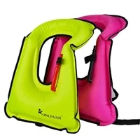 1pc swimming adjustable waist buoyancy life jacket waterproof water sports safety vest lifebuoy floating vest gear