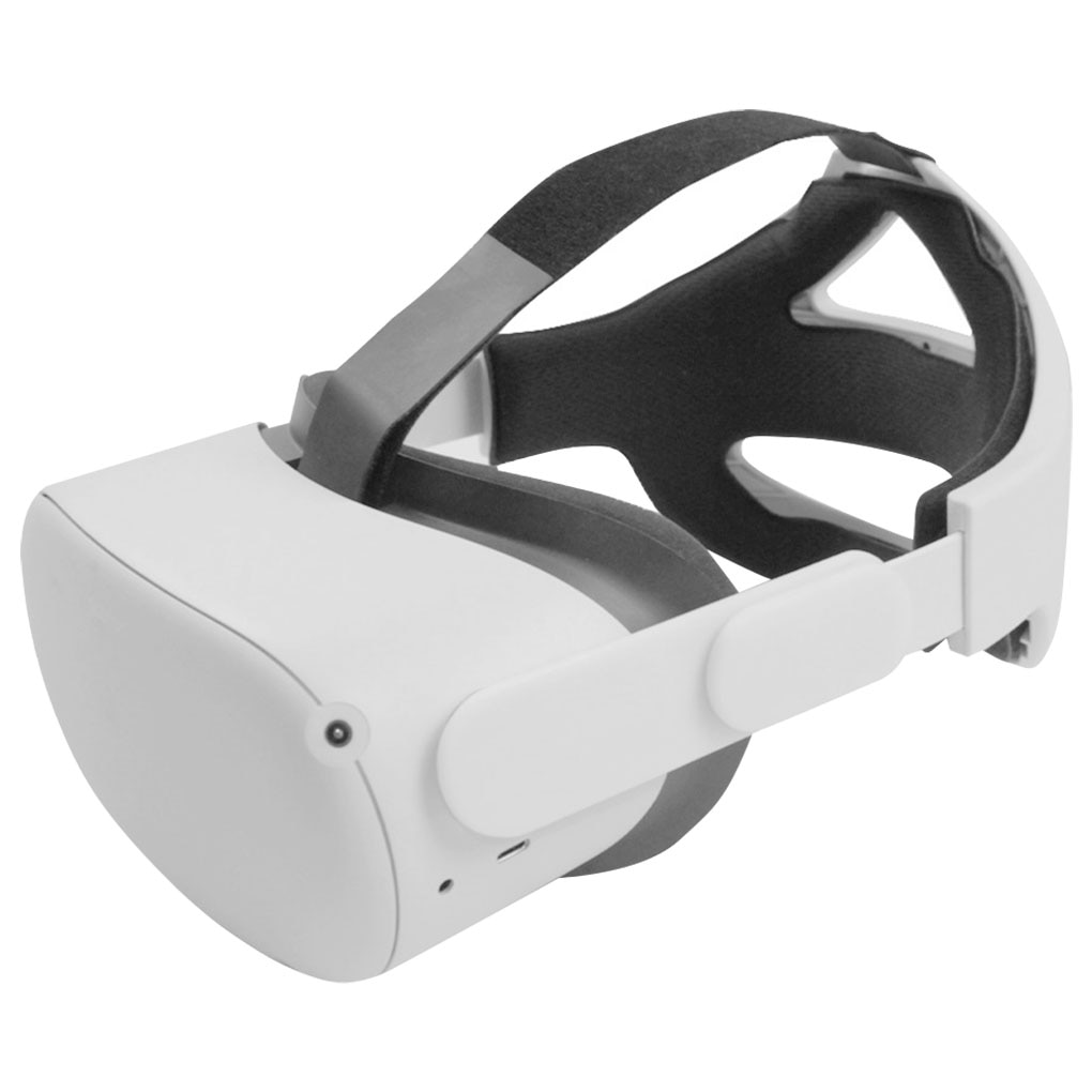 Correa de cabeza ajustable para Oculus Quest 2 Elite, aumento de soporte,...
