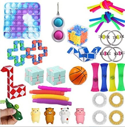 Fidget Toys Anti Stress Set Stretchy Strings Pop It Popit Gift Pack Adult Children Squishy Sensory Antistress Relief Squeeze Toy enlarge