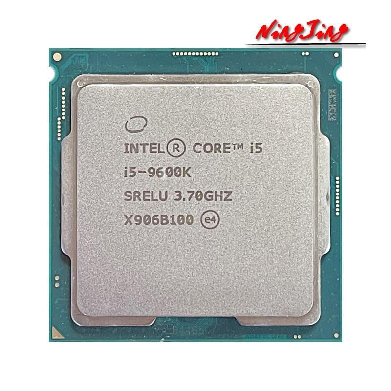 [해외] 인텔 코어 i5-9600K i5 9600K 3.7 GHz 6 코어 6 스레드 CPU 프로세서 9M 95W LGA 1151
