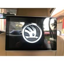 11.8 pouces Wifi Bluetooth USB Android 9.0 voiture appuie-tête moniteur pour Skoda Fabia Octavia rapide superbe Yeti siège arrière divertissement
