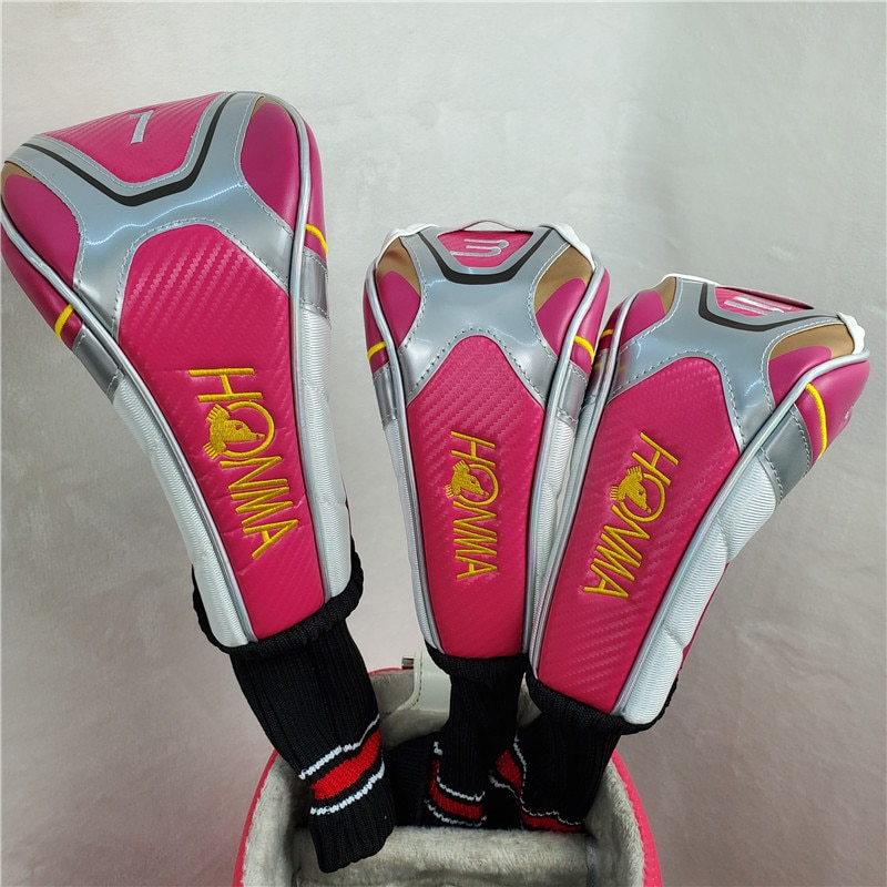 Golf set HONMA S-06 ladies set fairway wood + iron set + putter free shipping (no bag)