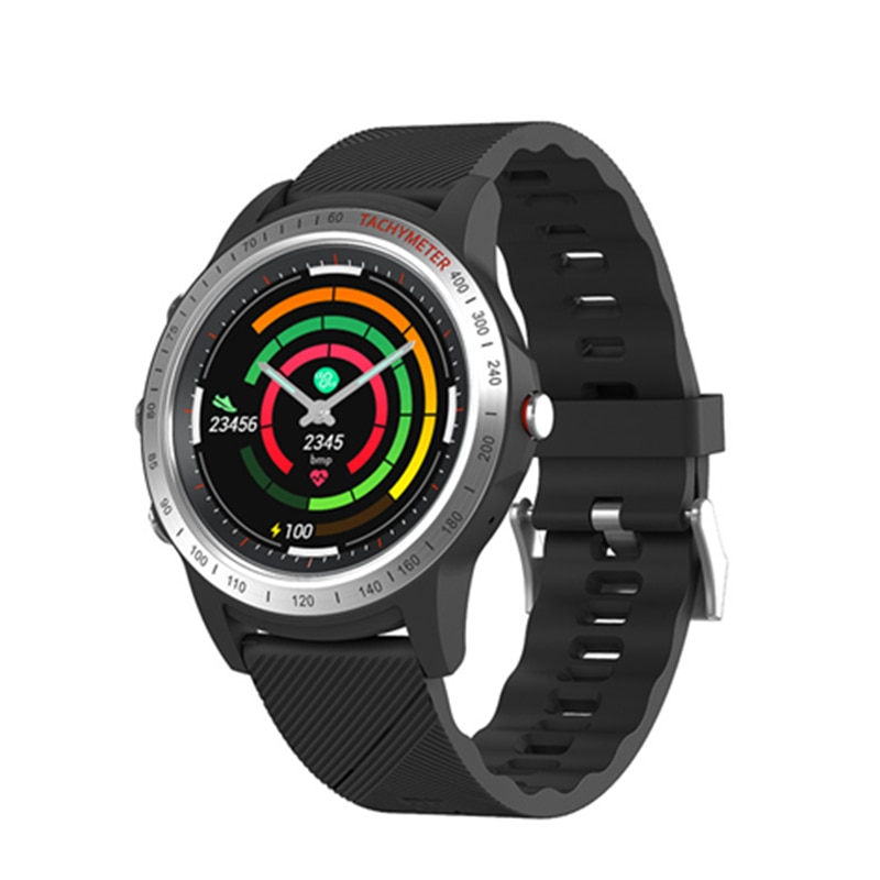 S22 Multi-function Sport Smart Watch Blood Pressure Monitor Sensor Bluetooth IP67 Waterproof Motion Tracker Information Reminder