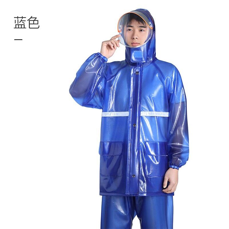 Chubasquero Impermeable Para adultos, Impermeable, transparente, fino, Impermeable, Capa ligera Para Lluvia, pantalones KK60YY