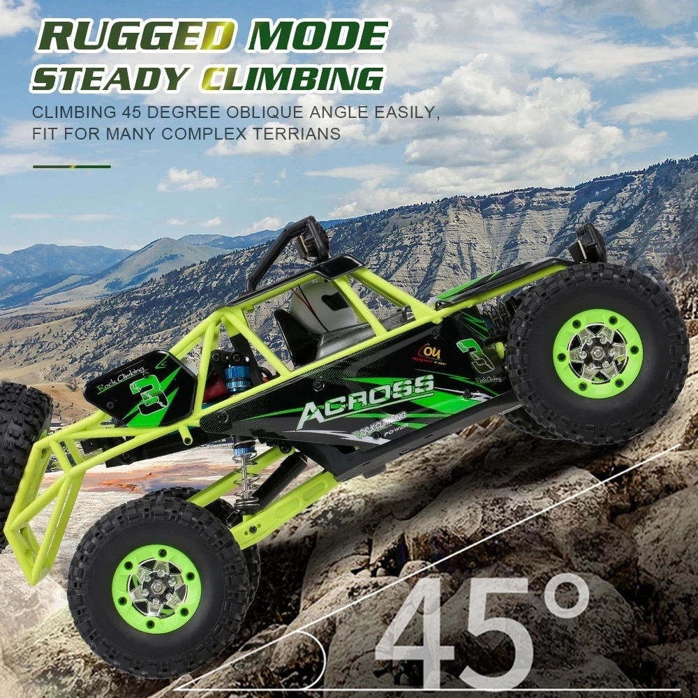 City Remote Control Off-Road Vehicle 4WD 1/12 50km / H High Speed Racing Vehicle Rc Electric Car 2.4g Crawler Car Model Toys